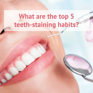5 Ways You Could Be Staining Your Teeth